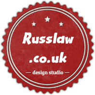 logo for russ law