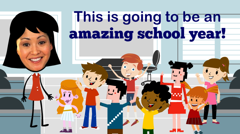Powtoon back to school